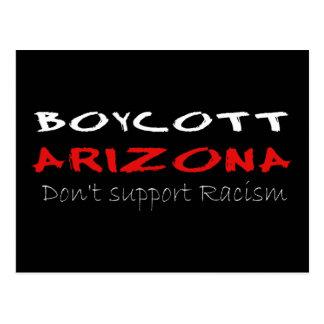 Boycott Arizona Carte Postale