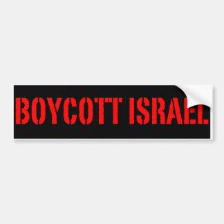 Boycott Israël - adhésif pour pare-chocs Autocollant De Voiture
