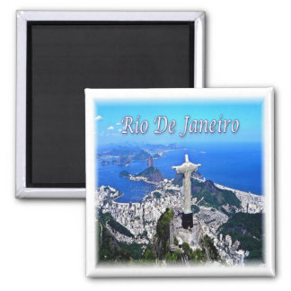 BR * Brésil - rédempteur du Christ de Rio de Aimant