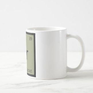 Br - symbole végétal de chimie de chou de bruxelle tasse à café