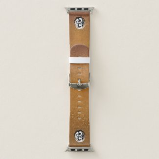 bracelet apple watch 38mm logo auteur