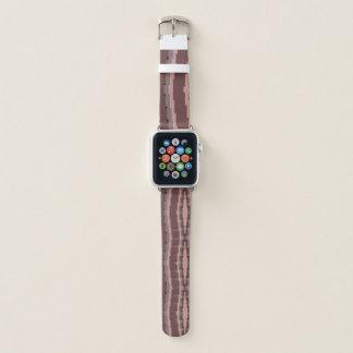 Bracelet Apple Watch Abrégé sur rose 2 mauve et Bourgogne