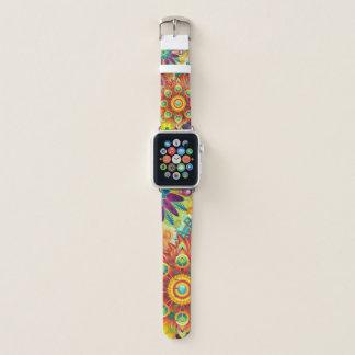 Bracelet Apple Watch Abstraction de fleur