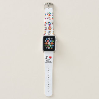 Bracelet Apple Watch amour de berger allemand
