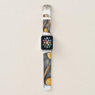 Bracelet Apple Watch Amour de pingouin