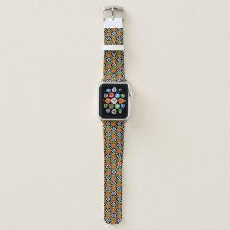 Bracelet Apple Watch Ananas géométriques