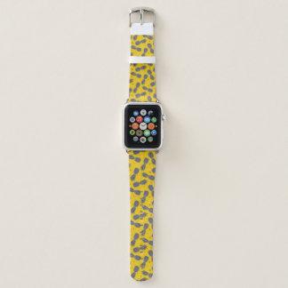 Bracelet Apple Watch Ananas sur l'or