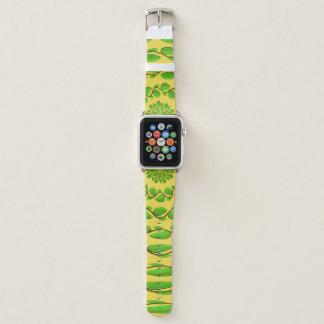 Bracelet Apple Watch Anneaux concentriques de feuille par Kenneth