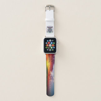 Bracelet Apple Watch Apple observent le hibou d'esprit concevoir