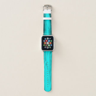 Bracelet Apple Watch Aqua électrique - bande de montre d'Apple