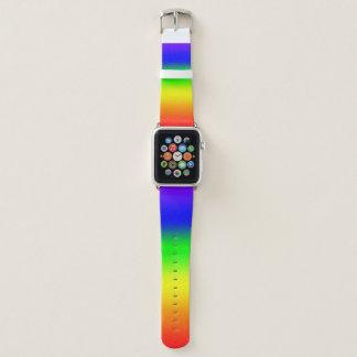 Bracelet Apple Watch Arc-en-ciel Ombre