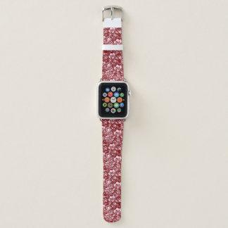 Bracelet Apple Watch arrière - plan de crâne d'emo