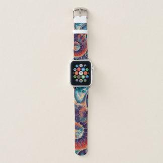 Bracelet Apple Watch Art de Nautilus de stupéfaction de coucher du