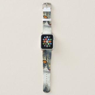 Bracelet Apple Watch Art génial de chat de ragondin du Maine