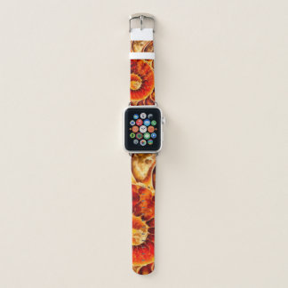 Bracelet Apple Watch Art orange de Nautilus