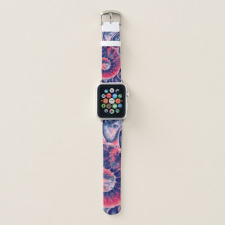 Bracelet Apple Watch Art pourpre de Nautilus