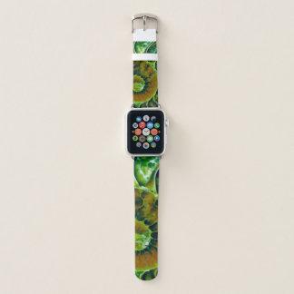 Bracelet Apple Watch Art vert de Nautilus