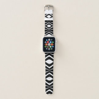 Bracelet Apple Watch B et bande de montre rayée d'Apple de pirouette de