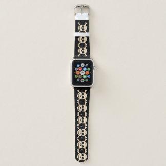 Bracelet Apple Watch Bande de crâne et de montre de Crossbone Apple