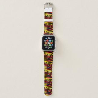 Bracelet Apple Watch Bande de montre animale d'Apple de motif de
