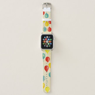 Bracelet Apple Watch Bande de montre colorée d'Apple de ballons