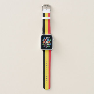Bracelet Apple Watch Bande de montre d'Apple de drapeau de la Belgique