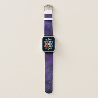 Bracelet Apple Watch Bande de montre d'Apple de galaxie