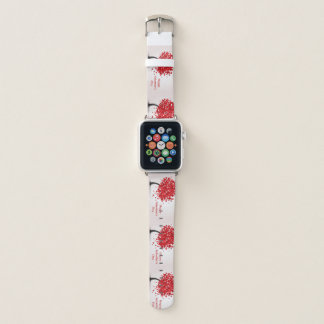 Bracelet Apple Watch Bande de montre d'Apple de heureuse