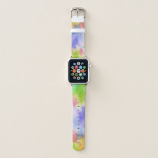 Bracelet Apple Watch Bande de montre d'Apple de l'AQUARELLE 3