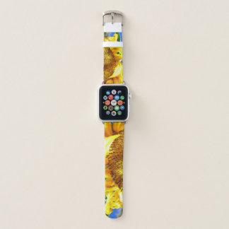 Bracelet Apple Watch Bande de montre d'Apple de lever de soleil de