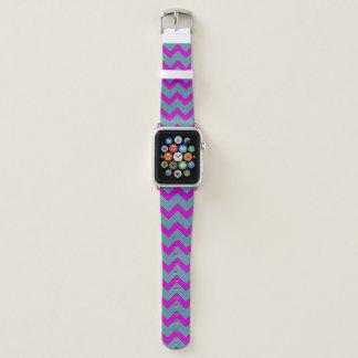 Bracelet Apple Watch Bande de montre d'Apple de motif de Chevron de