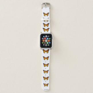 Bracelet Apple Watch Bande de montre d'Apple de motif de papillon de