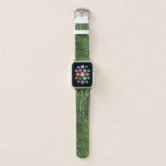 Bracelet Apple Watch Bande de montre d'Apple de regard de peau de