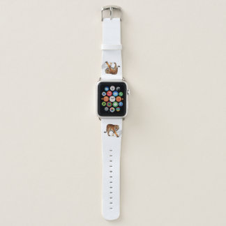 Bracelet Apple Watch Bande de montre d'Apple de tigre