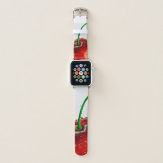 Bracelet Apple Watch Bande de montre d'Apple d'illustration de cerise