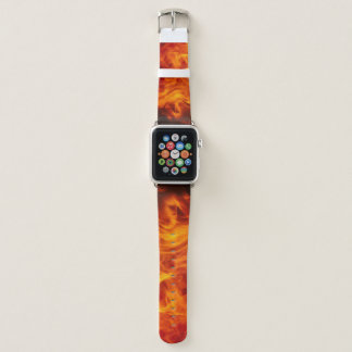 Bracelet Apple Watch Bande de montre d'Apple du feu