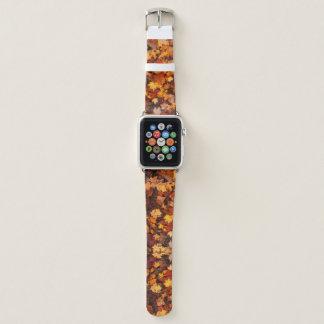 Bracelet Apple Watch Bande de montre d'Apple du feuille d'automne 6