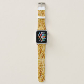 Bracelet Apple Watch Bande de montre d'Apple remplie de pommes frites