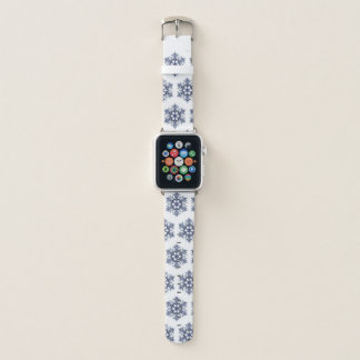 Bracelet Apple Watch Bande de montre de flocon de neige