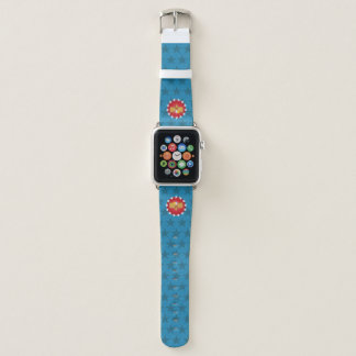 Bracelet Apple Watch Bande de montre d'Eagle de liberté (bleu) - Apple