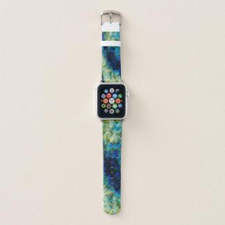 Bracelet Apple Watch bande de montre en pastel psychédélique de