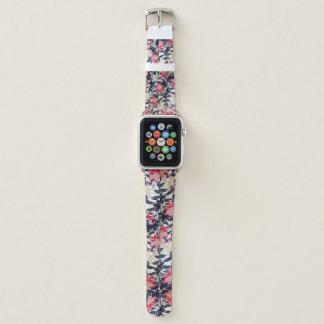 Bracelet Apple Watch Bande de montre florale d'Apple de kimono vintage