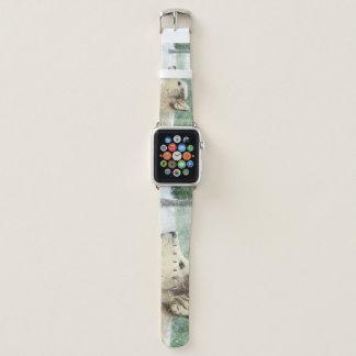 Bracelet Apple Watch Bande de montre hypnotisée d'Apple de loup
