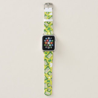 Bracelet Apple Watch Bande de montre mignonne d'Apple de crocodile de