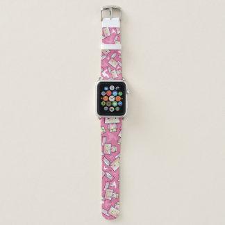 Bracelet Apple Watch Bande de montre mignonne d'Apple de lapin de