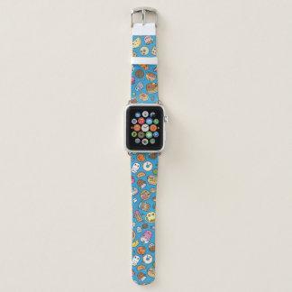 Bracelet Apple Watch Bande de montre mignonne d'Apple de nourriture de