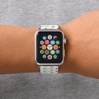 Bracelet Apple Watch Bande de montre mignonne de pomme d'infirmière de