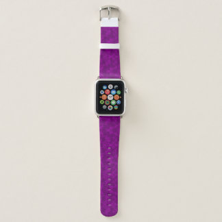 Bracelet Apple Watch Bande de montre pourpre d'Apple de motif