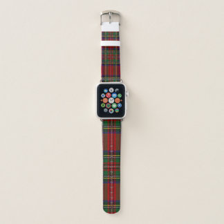 Bracelet Apple Watch Bande de montre rouge d'Apple de conception de
