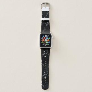Bracelet Apple Watch Bande de montre squelettique gothique mauvaise